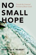 Cover for No Small Hope