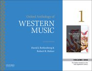 Cover for Oxford Anthology of Western Music - 9780190600310