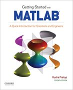 Cover for Getting Started with MATLAB