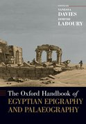 Cover for The Oxford Handbook of Egyptian Epigraphy and Palaeography