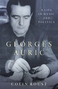 Cover for Georges Auric