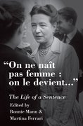 Cover for On ne naît pas femme : on le devient