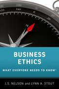 Cover for Business Ethics