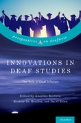 Cover for Innovations in Deaf Studies