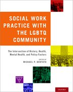 Cover for Social Work Practice with the LGBTQ Community - 9780190612795