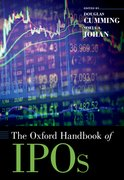 Cover for The Oxford Handbook of IPOs