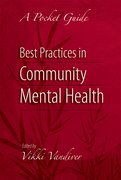 Cover for Best Practices in Community Mental Health