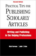 Cover for Practical Tips for Publishing Scholarly Articles, Second Edition