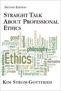 Cover for Straight Talk About Professional Ethics, Second Edition