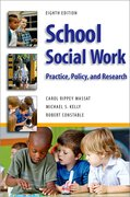 Cover for School Social Work, Eighth Edition