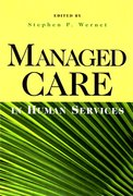 Cover for Managed Care in Human Services