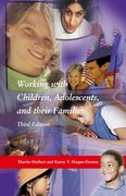 Cover for Working With Children, Adolescents, and Their Families, Third Edition
