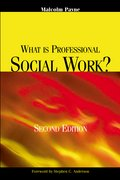 Cover for What Is Professional Social Work?