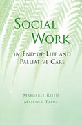 Cover for Social Work in End-of-Life and Palliative Care