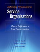 Cover for Improving Performance in Service Organizations