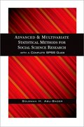 Cover for Advanced and Multivariate Statistical Methods for Social Science Research