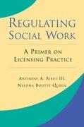 Cover for Regulating Social Work