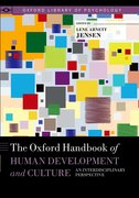 Cover for The Oxford Handbook of Human Development and Culture
