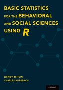 Cover for Basic Statistics for the Behavioral and Social Sciences Using R - 9780190620189
