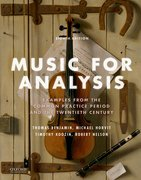 Cover for Music for Analysis