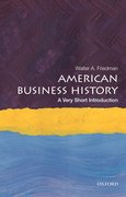 Cover for American Business History: A Very Short Introduction