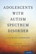 Cover for Adolescents with Autism Spectrum Disorder