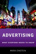 Cover for Advertising - 9780190625894