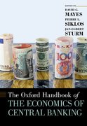 Cover for The Oxford Handbook of the Economics of Central Banking