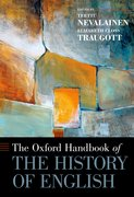 Cover for The Oxford Handbook of the History of English