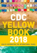Cover for CDC Yellow Book 2018: Health Information for International Travel