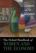 Cover for The Oxford Handbook of Women and the Economy