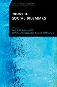Cover for Trust in Social Dilemmas