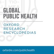 Cover for Oxford Research Encyclopedias: Global Public Health