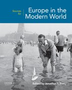 Cover for Sources for Europe in the Modern World