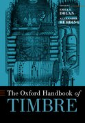 Cover for The Oxford Handbook of Timbre - 9780190637224
