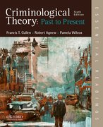 Cover for Criminological Theory: Past to Present - 9780190639341
