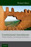 Cover for Constitutional Amendments