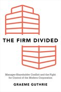 Cover for The Firm Divided - 9780190641184