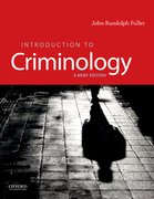 Cover for Introduction to Criminology