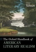 Cover for The Oxford Handbook of American Literary Realism