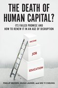 Cover for The Death of Human Capital? - 9780190644314