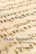Cover for Music Research