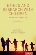 Cover for Ethics and Research with Children