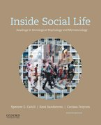 Cover for Inside Social Life - 9780190647889