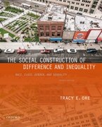 Cover for The Social Construction of Difference and Inequality - 9780190647964