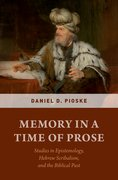 Cover for Memory in a Time of Prose