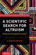 Cover for A Scientific Search for Altruism