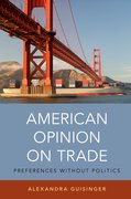 Cover for American Opinion on Trade - 9780190651831
