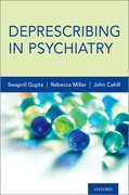 Cover for Deprescribing in Psychiatry