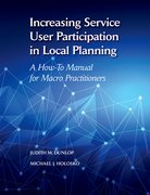 Cover for Increasing Service User Participation in Local Planning